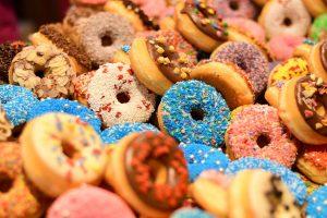 kerstdiner donut